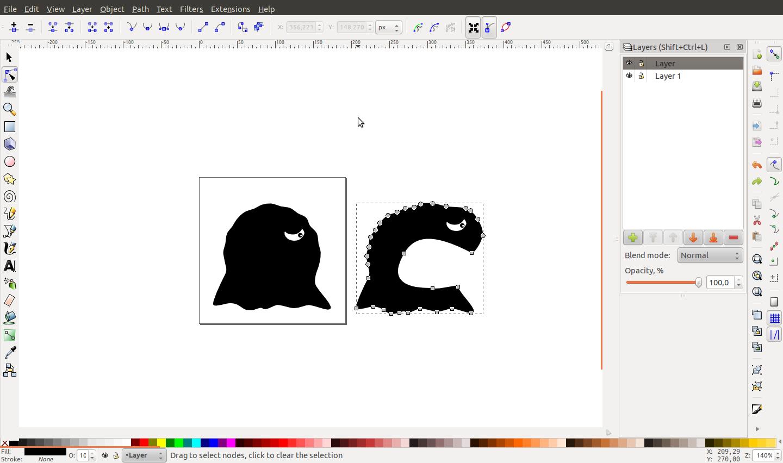 Building 2d animations using inkscape and synfig gemserk modelling gishus maximus using inkscape baditri Images