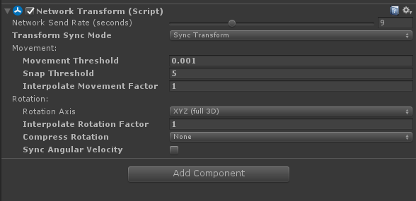 unity-networktransform