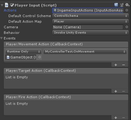 Using the new Unity's Input System during Ludum Dare 44 Jam